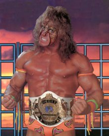 Hellwig's alter ego, the Ultimate Warrior